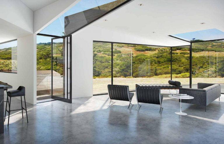 A minimal impact design from Larson Shores Architects (Interior)