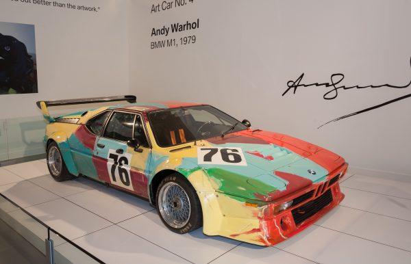 Andy Warhol - BMW M1 - 1979