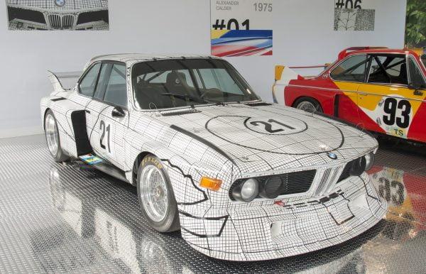 Frank Stella - BMW 3.0 CSL - 1976