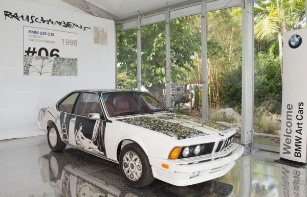 Robert Rauschenberg -  BMW 635 CSi - 1986