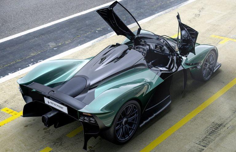 Aston Martin Valkyrie Spider. Imagery courtesy of Aston Martin.