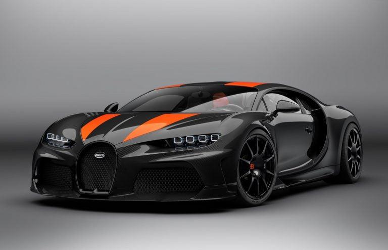 Bugatti Chiron Super Sport 300+. Imagery courtesy of Bugatti Automobiles S.A.S.