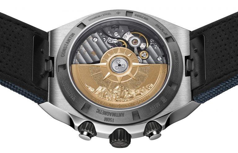 Overseas Chronograph Cory Richards Everest