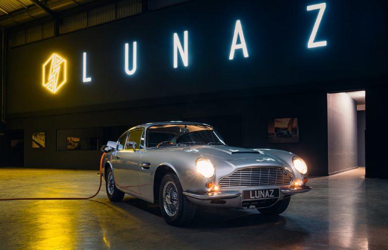 The Electric Lunaz Aston Martin DB6