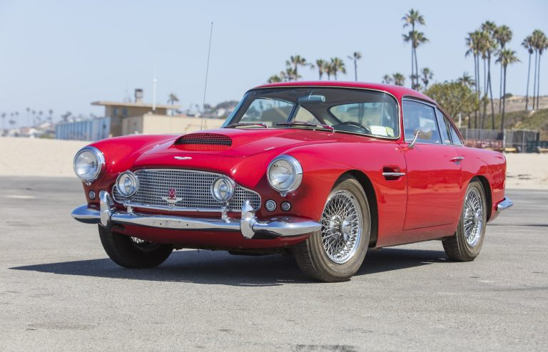 1962 Aston Martin DB4 Series-1 Saloon