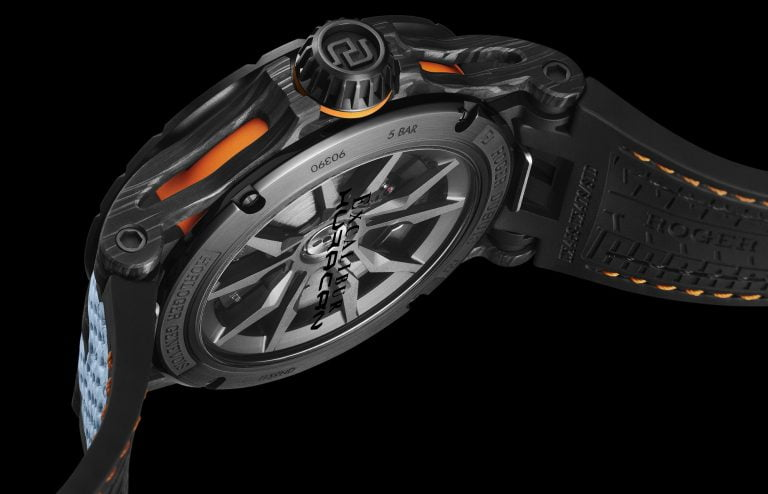 Roger Dubuis' Excalibur Huracán STO - Imagery courtesy of Rober Dubuis